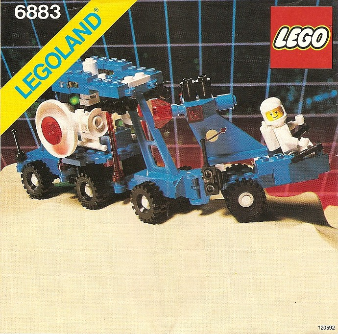 Изображение набора Лего 6883 Terrestrial Rover