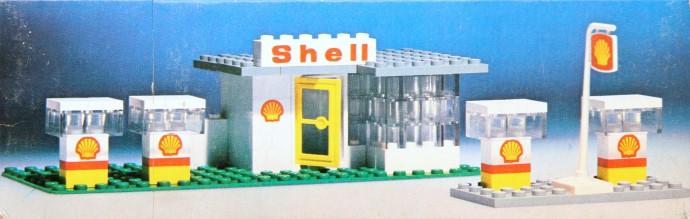 Изображение набора Лего 690 Shell Garage