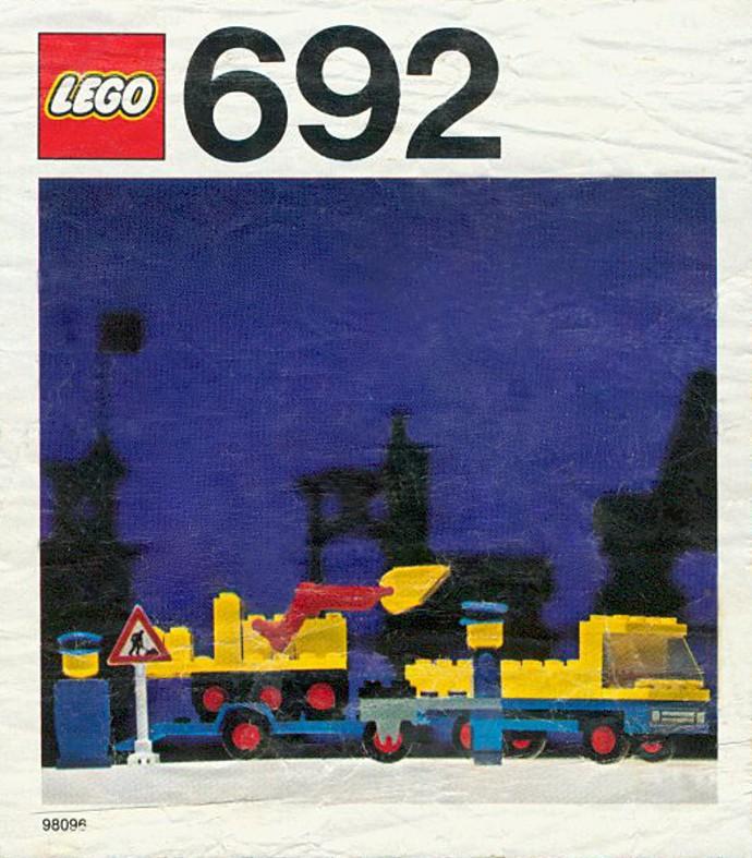 Lego 692 Road Repair Crew image
