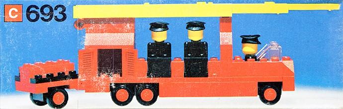 Lego 693 Fire Engine image