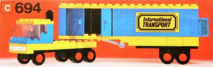 Lego 694 Transport Truck image