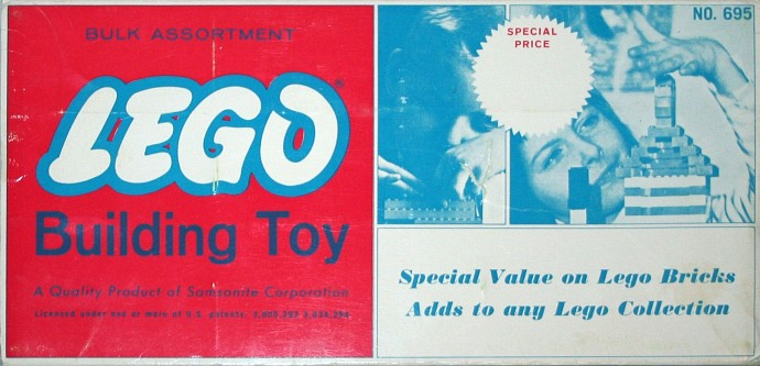 Lego 695 Bulk Assortment Set image