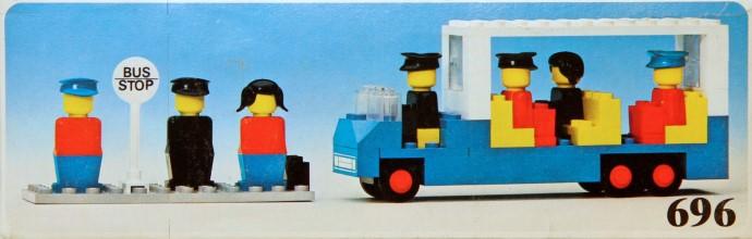 Изображение набора Лего 696 Bus Station