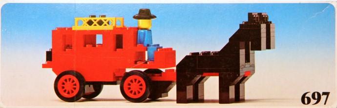Lego 697 Stage Coach image