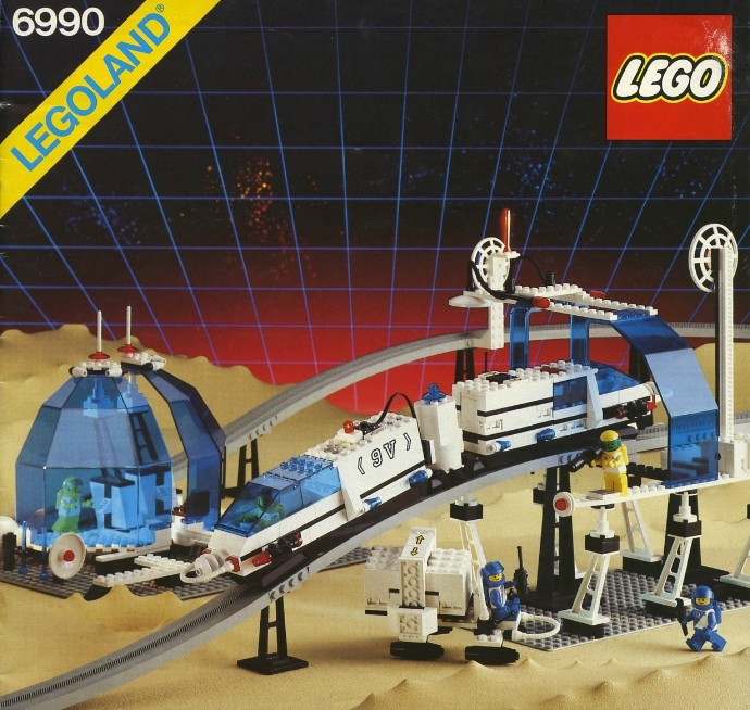 6990 1 monorail transport system brickset lego set. Black Bedroom Furniture Sets. Home Design Ideas