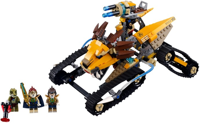 lego chima lion temple instructions