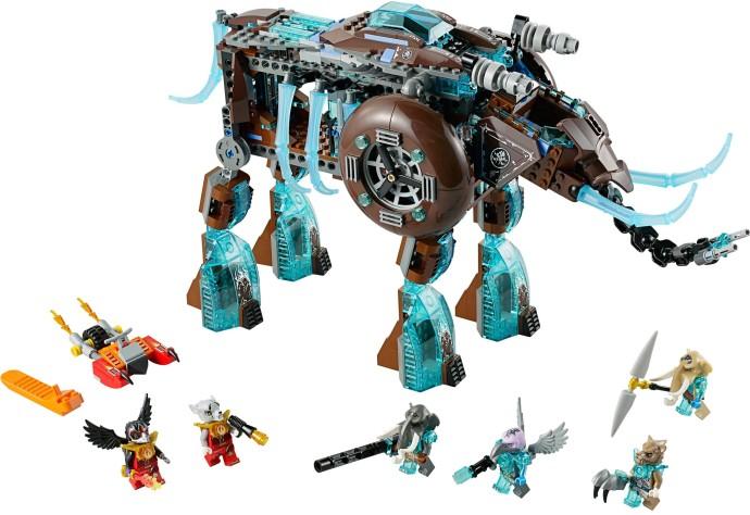 Изображение набора Лего 70145 Ледяной мамонт-штурмовик Маулы