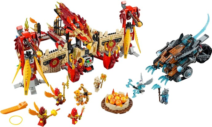 Lego 70146 Flying Phoenix Fire Temple image