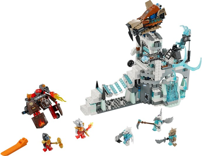 Lego 70147 Sir Fangar's Ice Fortress image