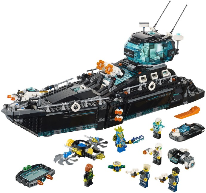 Review 70173 Ultra Agents Ocean Hq Brickset Lego Set Guide And