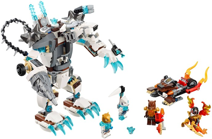 Lego 70223 Icebite's Claw Driller image