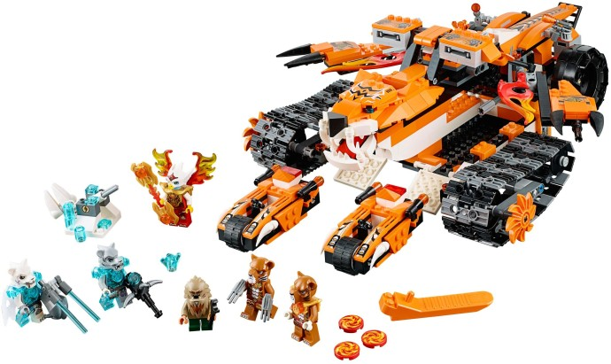 Lego 70224 Tiger's Mobile Command image