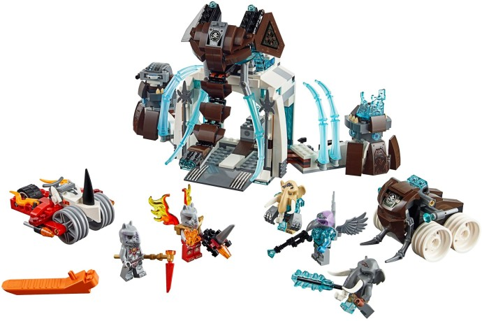 Lego 70226 Mammoth's Frozen Stronghold image