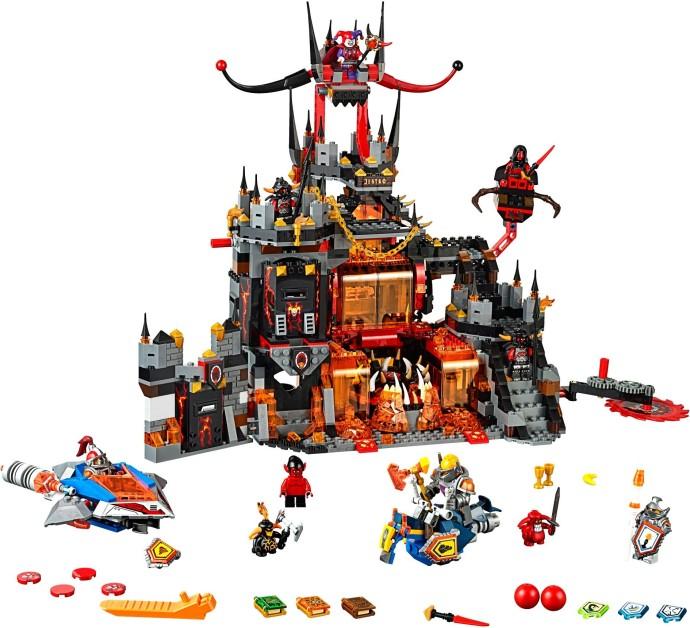 70323-1: Jestro's Volcano Lair | Brickset: LEGO set guide ...