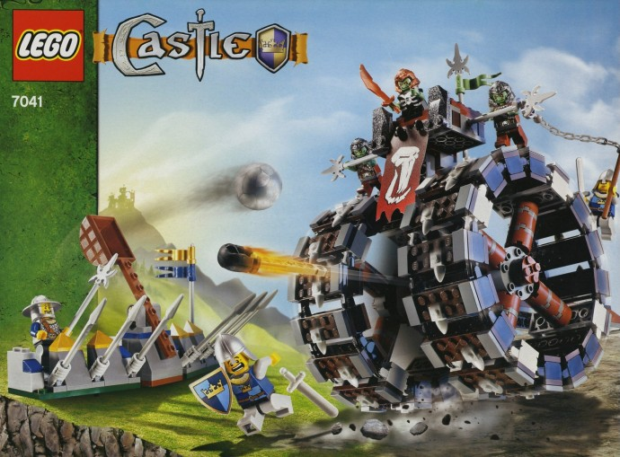 Lego 7041 Troll Battle Wheel