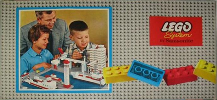 Изображение набора Лего 705 Small Basic Set (Flat Box)