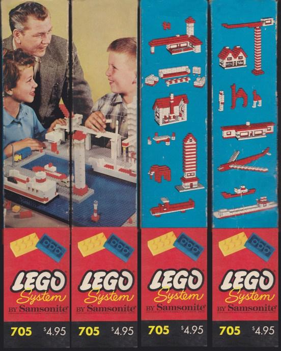 Изображение набора Лего 705 Medium Basic Set (tall box)