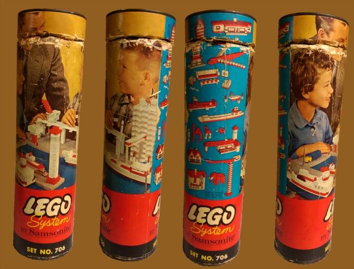 Изображение набора Лего 706 Medium Basic Set (Canister)