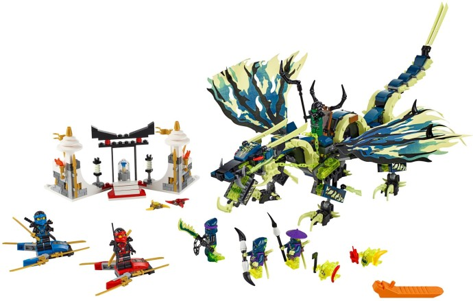70736-1: Attack of the Morro Dragon | Brickset: LEGO set guide and ...