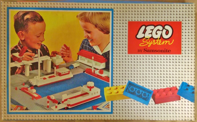 Lego 708 Medium Basic Set (Flat Box) image