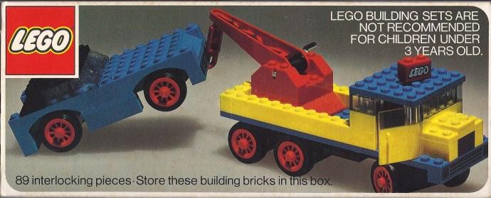 Изображение набора Лего 710 Wrecker with Car