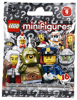 LEGO MINIFIGURES SERIES 9 71000 Battle Mech NEW