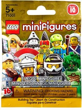 Lego 71001 LEGO Minifigures Series 10 {Random bag} image