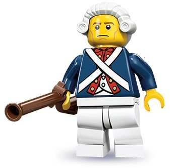 Lego 71001 Revolutionary Soldier image