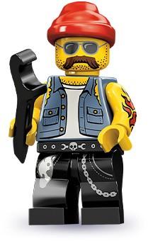 Lego 71001 Motorcycle Mechanic image