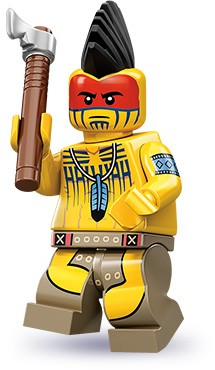 Lego 71001 Tomahawk Warrior image