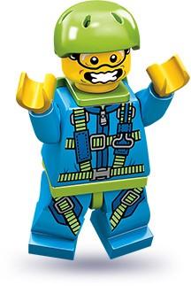 Изображение набора Лего 71001 Парашютист