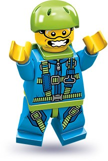 Lego 71001 Skydiver image