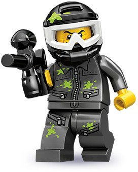 Lego 71001 Paintball Player image