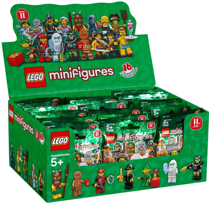 71002-18: LEGO Minifigures Series 11 - Sealed Box ...