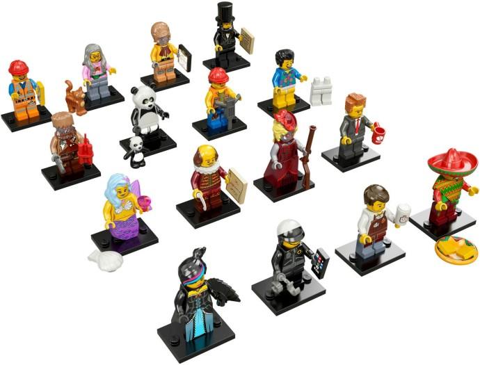 7100417 lego minifigures the lego movie series