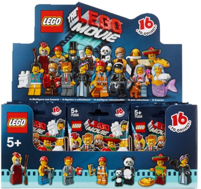 Collectable Minifigures | The LEGO Movie Series | Brickset ...