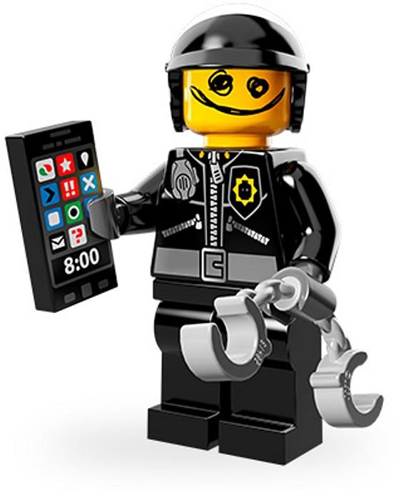 71004 7 Scribble Face Bad Cop Brickset Lego Set Guide And Database
