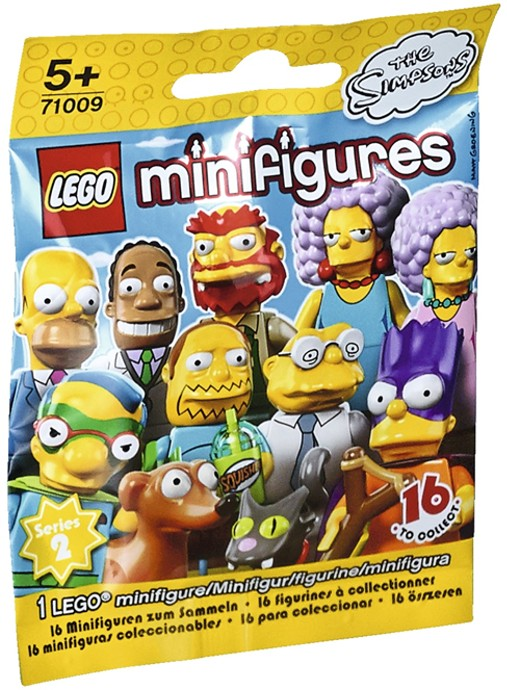 LEGO The Simpsons Series 2 Waylon Smithers 71009 BRAND NEW Sealed in Packet