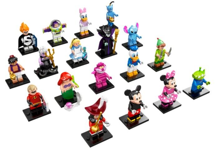 71012-19: LEGO Minifigures - The Disney Series - Complete ...