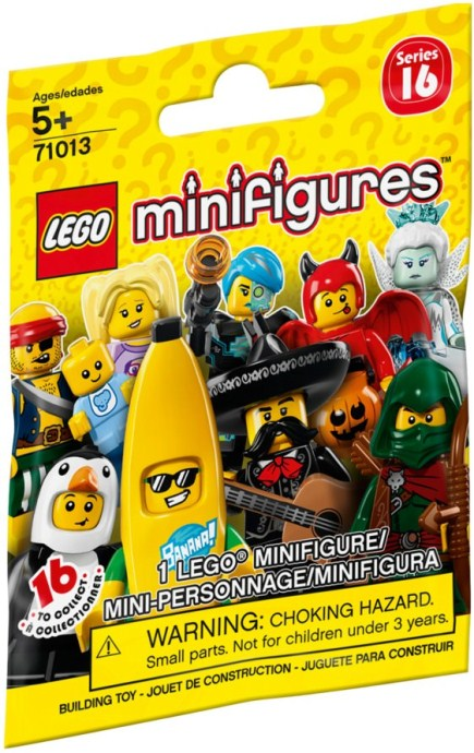 71013 0 Lego Minifigures Series 16 Random Bag