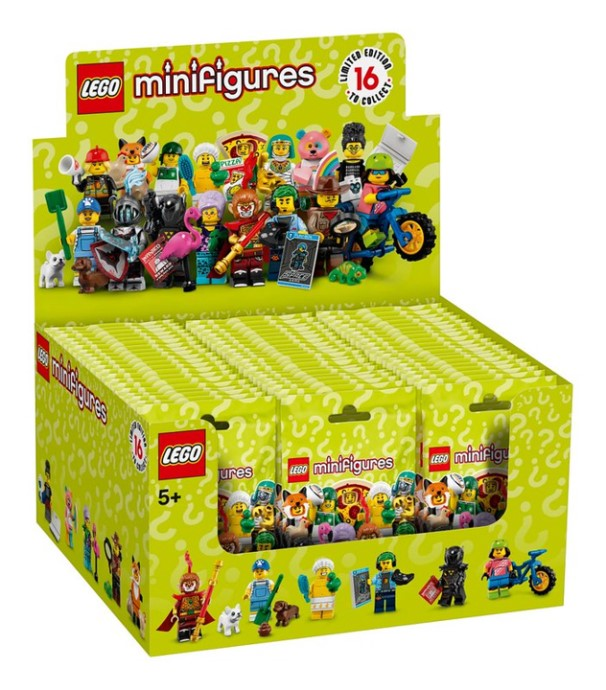 Series 19 complete box available at LEGO.com