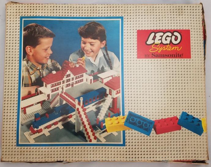 Lego 711 Large Basic Set (Flat Box) image