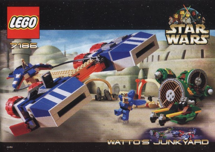 Star Wars Tagged Watto Brickset Lego Set Guide And Database