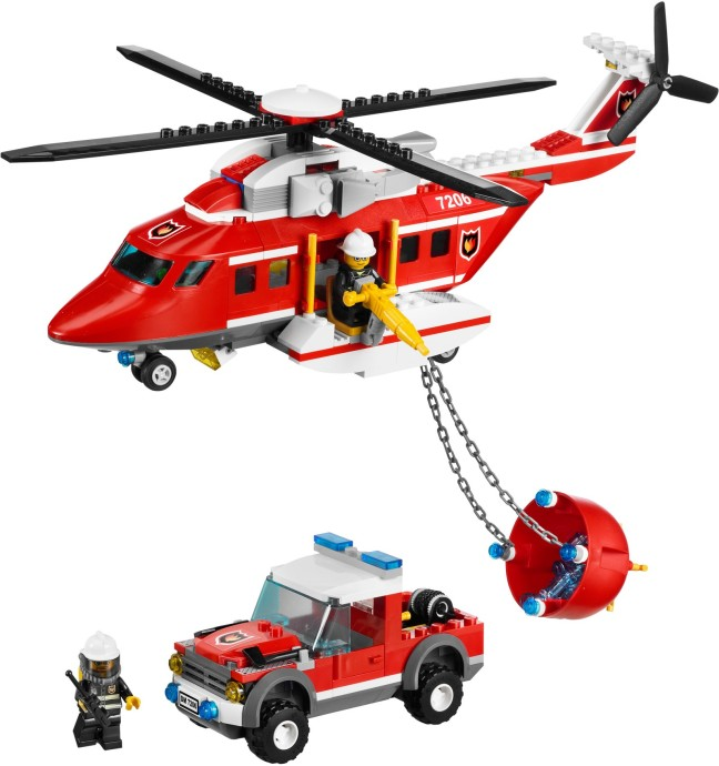 7206 1 Fire Helicopter