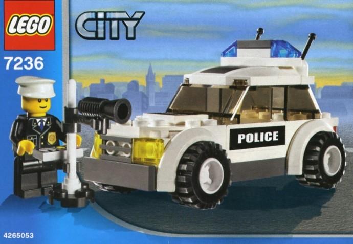 Car Auction Apps >> 7236-1: Police Car | Brickset: LEGO set guide and database