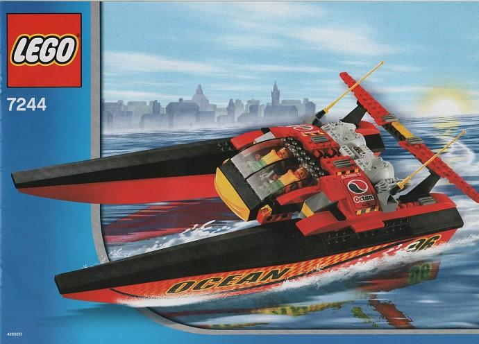 lego police van instructions 7245