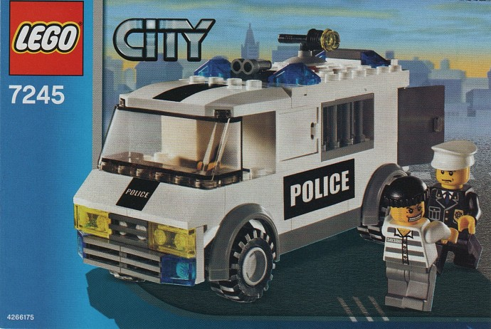 Car Auction Apps >> 7245-1: Prisoner Transport | Brickset: LEGO set guide and database