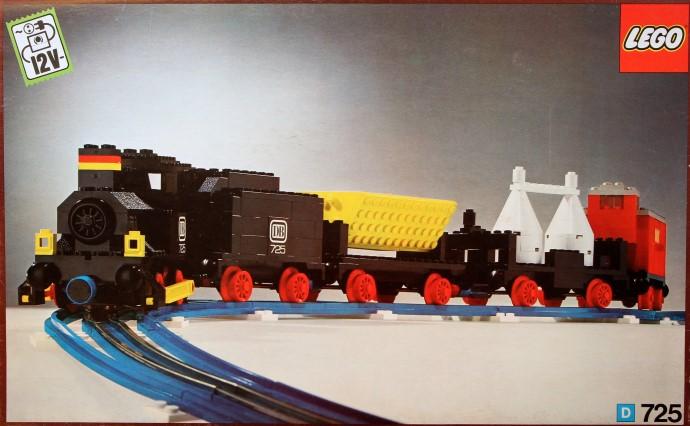 725 2 Freight Train Set Brickset Lego Set Guide And