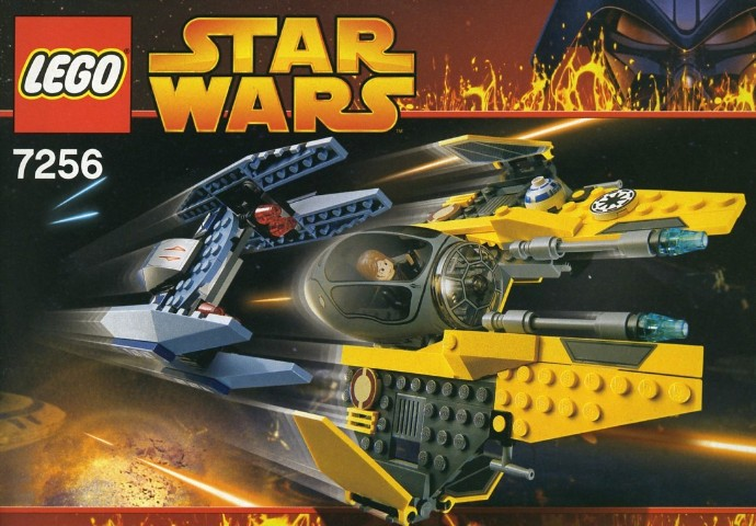 7256 1 Jedi Starfighter And Vulture Droid Brickset Lego Set