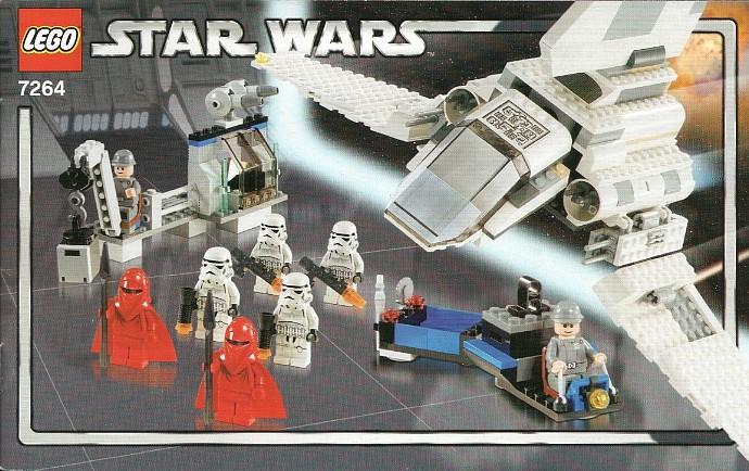 Lego Darth Vader Transformation Instructions